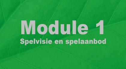 Module 1 - nog niet beschikbaar