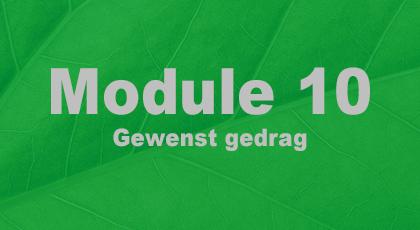 Module 10 - nog niet beschikbaar