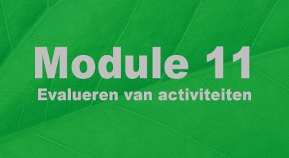 Module 11 - nog niet beschikbaar