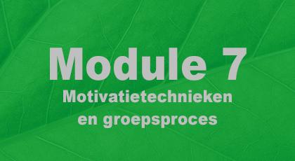 Module 7 - nog niet beschikbaar